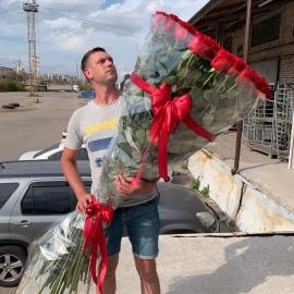 101 роза 160 см