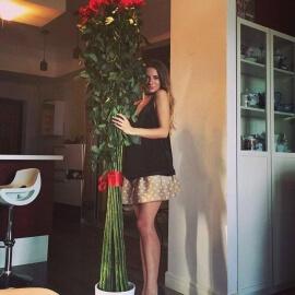 Высокие розы 190 см поштучно