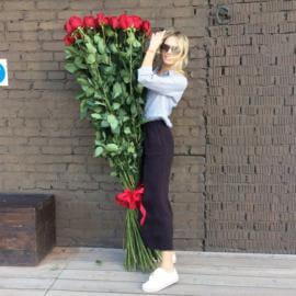 Высокие розы 170 см поштучно