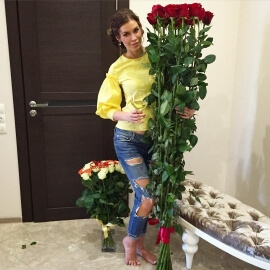 Высокие розы 180 см поштучно