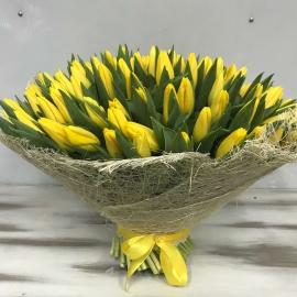 151 желтый тюльпан